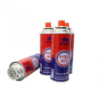 300ml factory butane gas 227g Butane Gas Cartridge refill camping gas aerosol for stove
