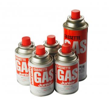 Low pressure empty gas bottle butane gas cartridge for camping stove