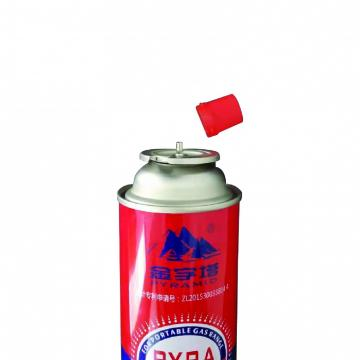 Mini size butane aerosol cans for little hot pot for portable camping stoves